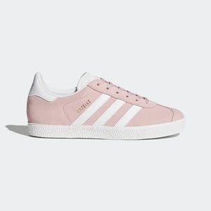 ADIDAS gazelle pink sued shoes